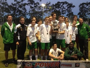 Cavendish Road SHS Queensland champions for 2013
